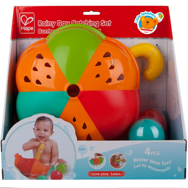 Hračky do vody - deštník s míčky