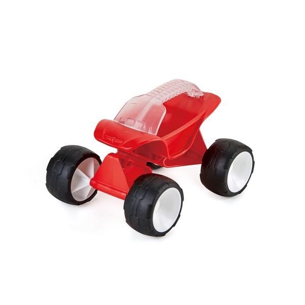 Hračky na písek - bugyna červená