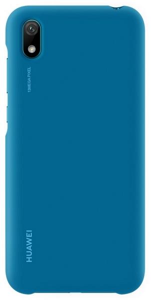 Huawei y5 2019 silicone case blue