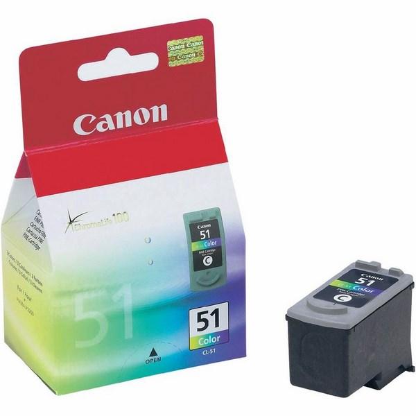 Inkoust canon cl51 barevný