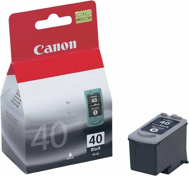 Inkoust canon pg40 černý