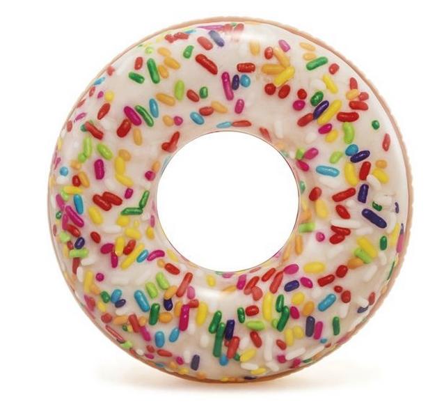 Intex 56263 kruh plovací donut s posypem 114cm