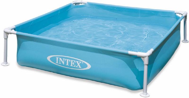 Intex 57173 bazén dětský s rámem modrý