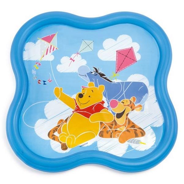 Intex 58433 bazén dětský medvídek pú se sprškou 140x140x10cm