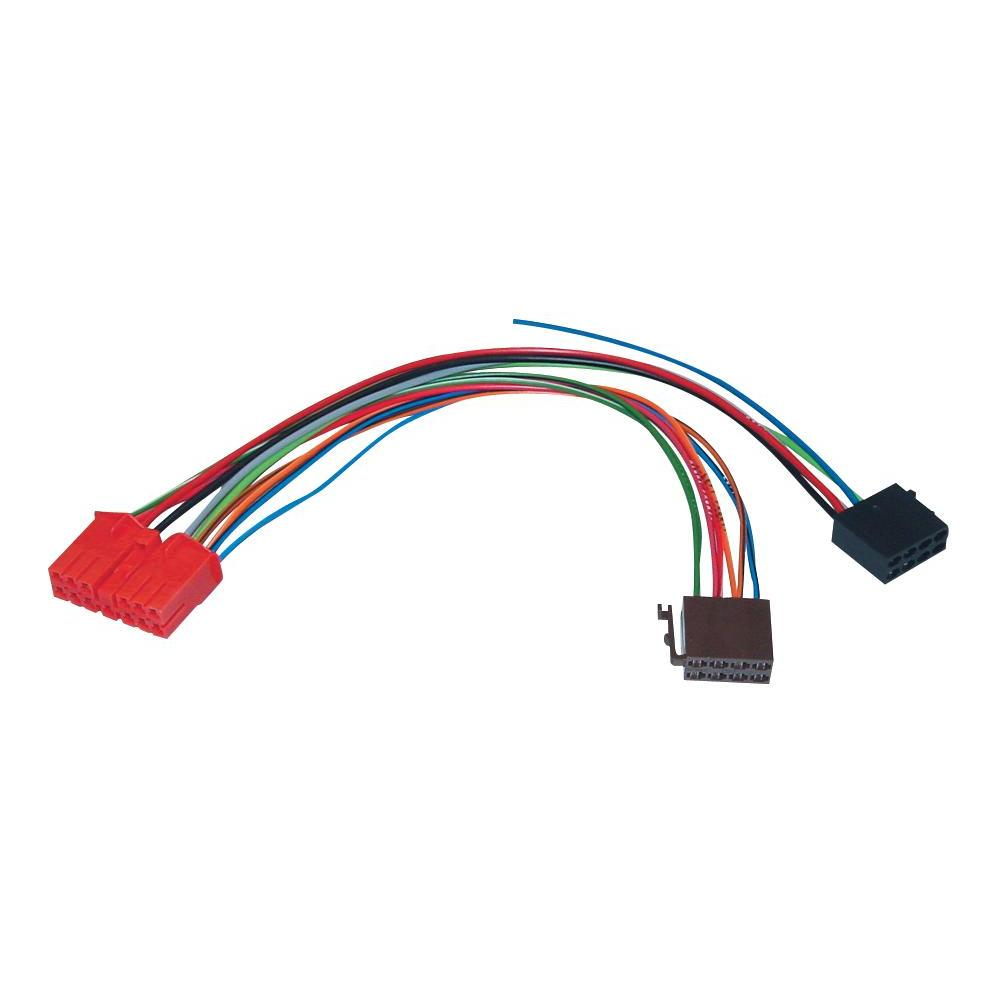 Iso adaptér pro modely renault clio/ espace/ rapid
