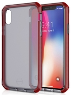 ITSKINS Supreme Frost 3m Drop iPhone X, Red/Black