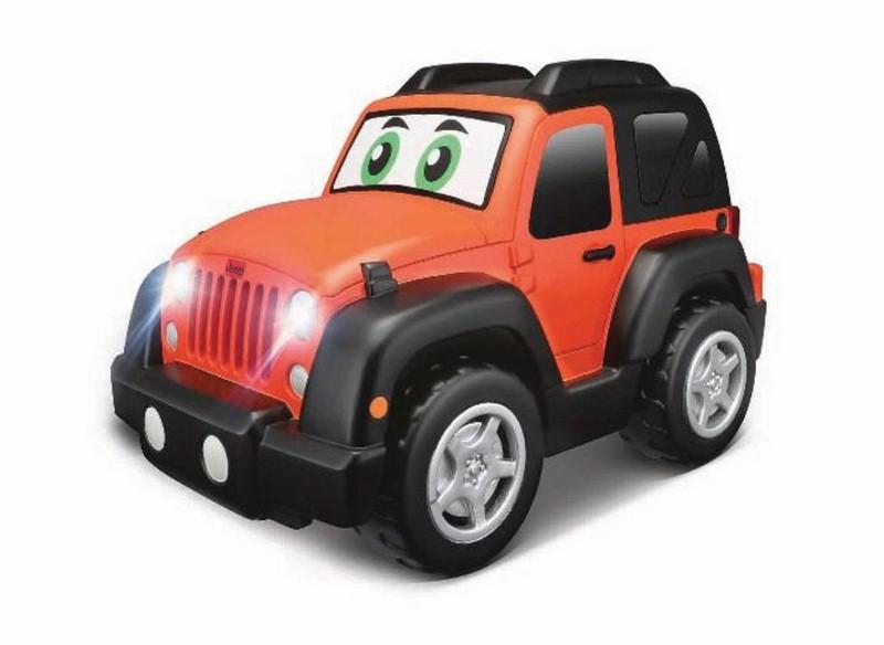 Jeep rc s volantem