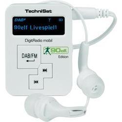 Kapesní dab+ rádio technisat digitrádio mobil, fm, bílá TechniSat