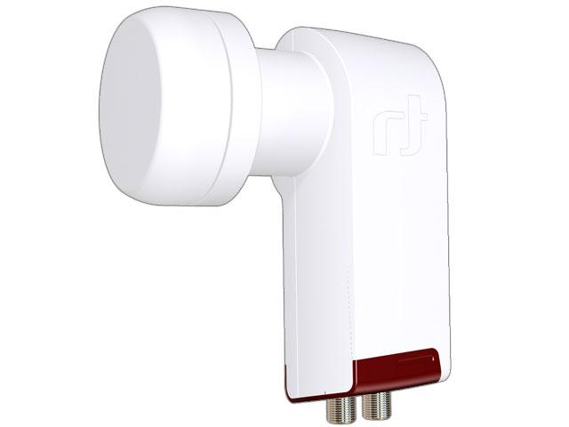 Konvertor (lnb) pro 2 tv 1dr- inverto red twin