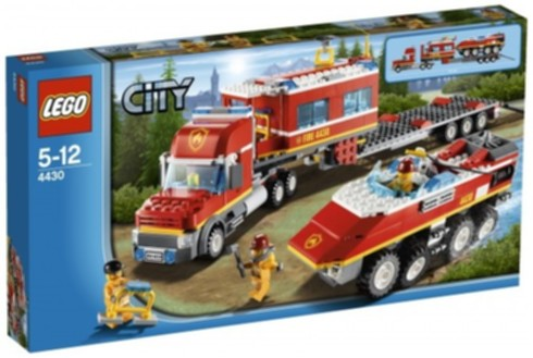 LEGO City 4430 Fire Transporter WS EXCLUSIVE