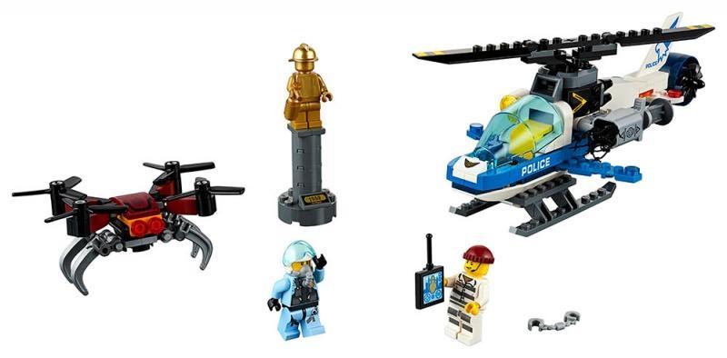 Lego city 60207 letecká policie a dron