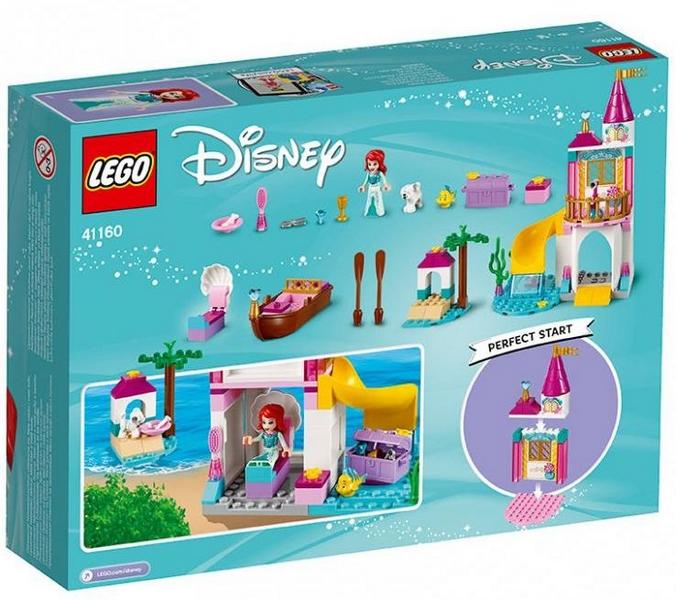 Lego disney 41160 ariel a její hrad u moře