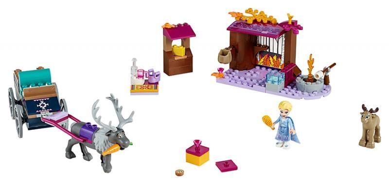 Lego disney frozen 41166 elsa a dobrodružství s povozem