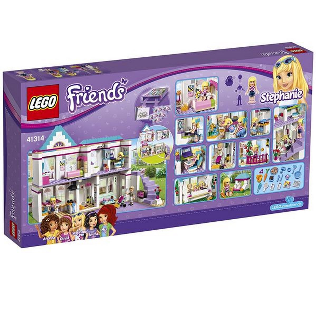 3f6e74c17 Lego Friends 41314 Stephanie a její dům | Fonetip.cz