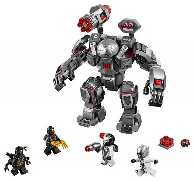 Lego marvel avengers 76124 war machine v robotickém obleku