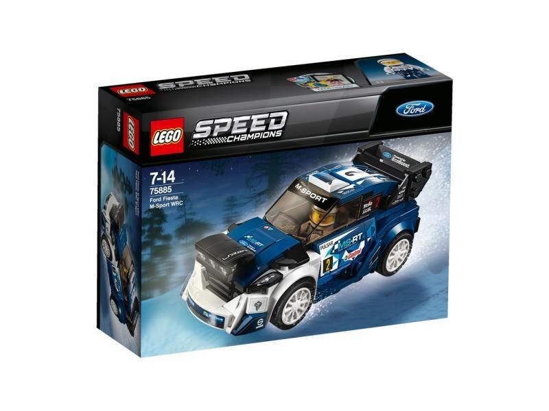 Lego speed 75885 ford fiesta m-sport wrc