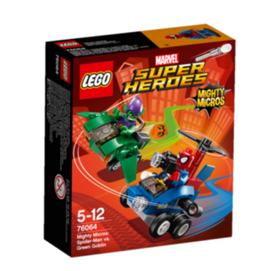 LEGO Super Heroes Mighty Micros: Spiderman vs. Green Goblin