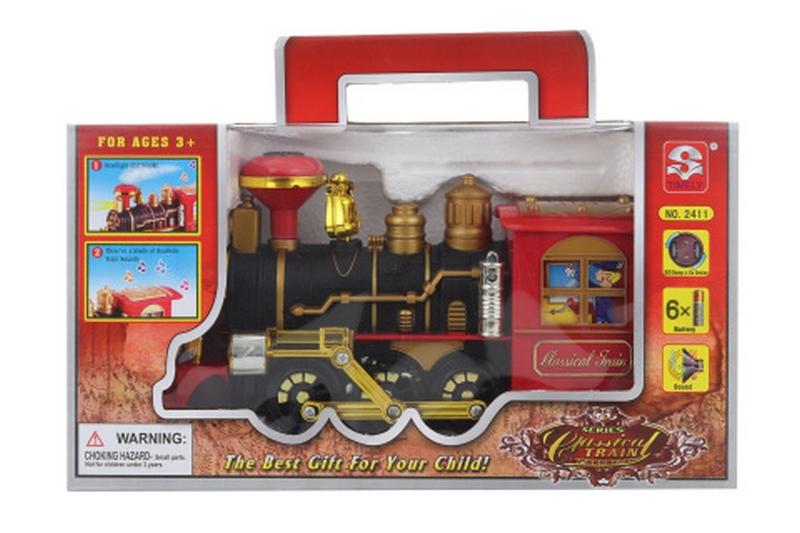 Lokomotiva kouřící