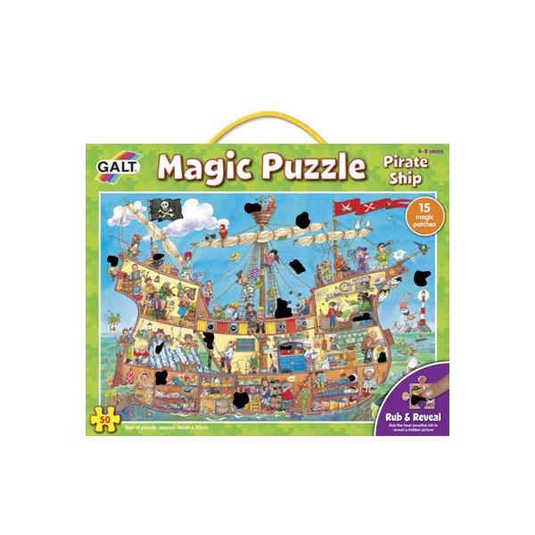 Magické puzzle – pirátská loď 2*