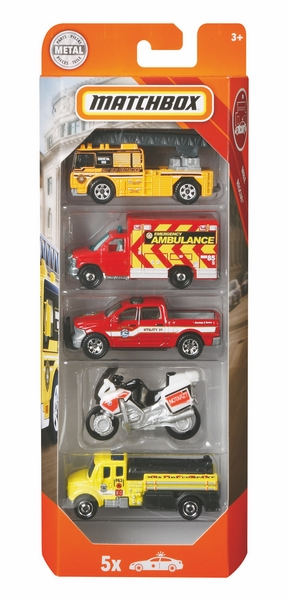 Matchbox 5ks angličák hasiči