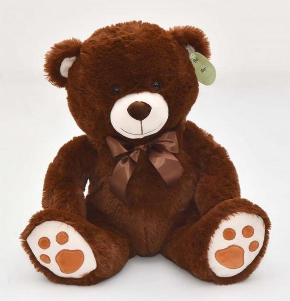 Medvídek sedící hnědý, 40 cm