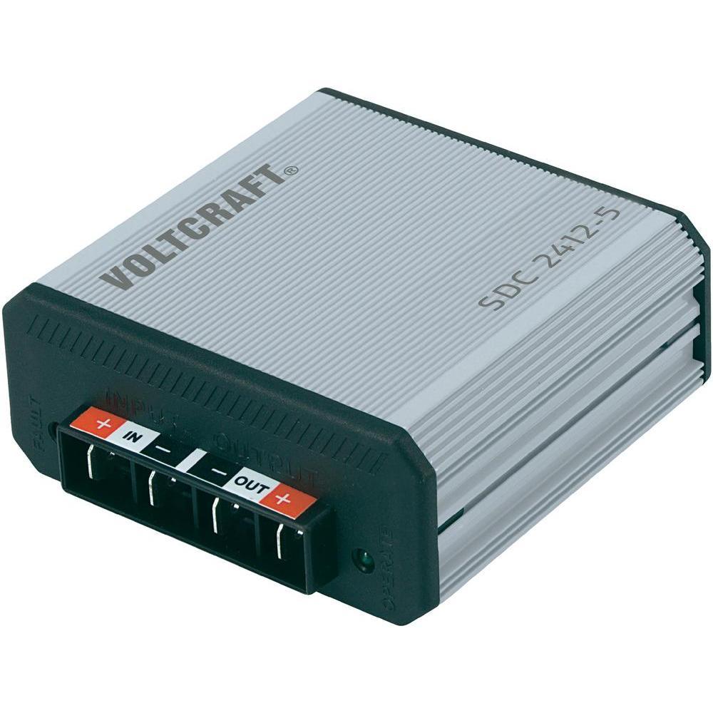 Měniče stejnosměrného napětí voltcraft sdc 2412-5 dc/dc