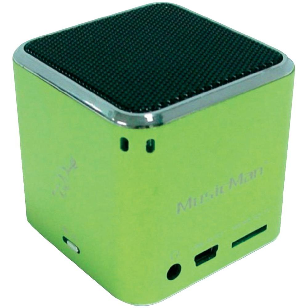 Mobilní mini sound stanice technaxx musicman ®, zelená 400-500