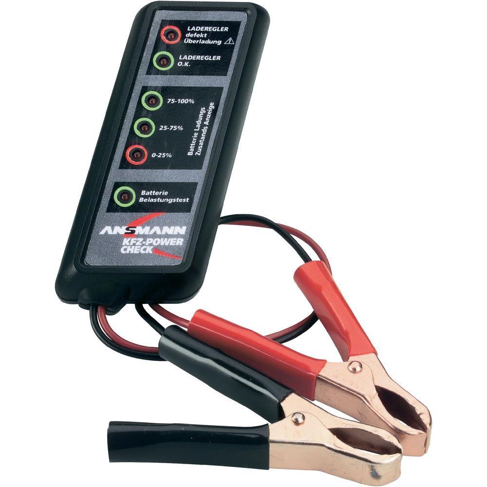 Multifunkční tester autobaterie power check