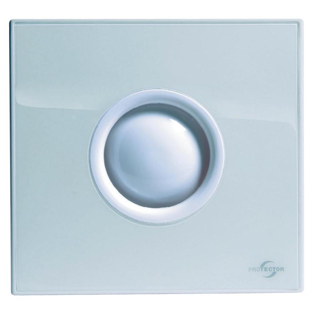 Nástěnný a stropní ventilátor protector proair s časovačem, bílý