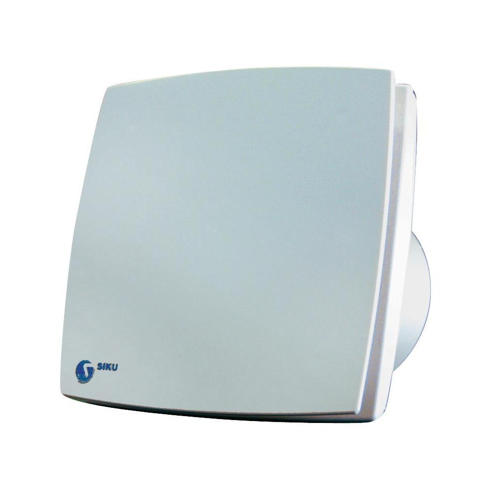 Nástěnný a stropní ventilátor s časovým relé siku 100 ld, bílý