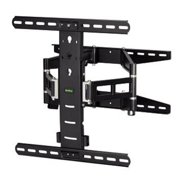 Nástěnný držák tv, pohyblivý, 400x400, 5*, černá