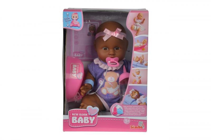 Nbb panenka miminko černoušek 30 cm