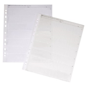 Obal na negativ, 24 x 36 mm, pp čirý, 100 ks