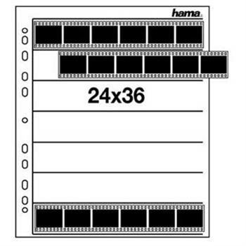 Obal na negativ, 24 x 36 mm, pp čirý, 25 ks