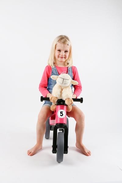 Odrážedlo funny wheels new sport 2v1 růžové
