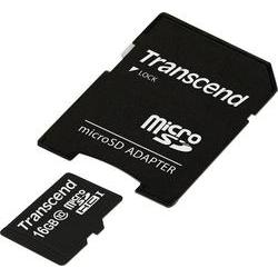 Paměťová karta micro sdhc 16 gb transcend premium class 10, uhs-i… Transcend