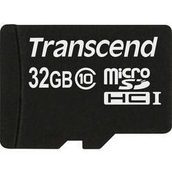 Paměťová karta micro sdhc 32 gb transcend premium class 10 Transcend