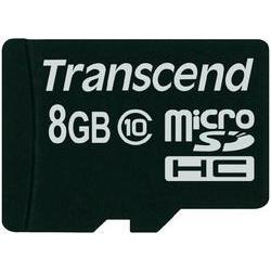 Paměťová karta micro sdhc, 8 gb, transcend premium, class 10 Transcend