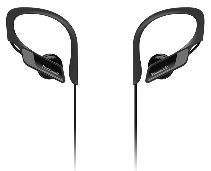 Panasonic bts10e-k černé bt sluchátka sportovní