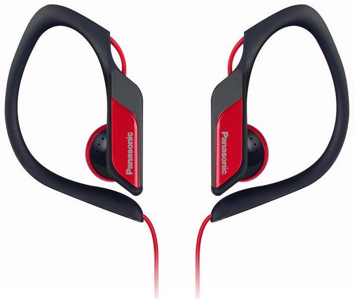 Panasonic hs34e-r červené sluchátka sportovní