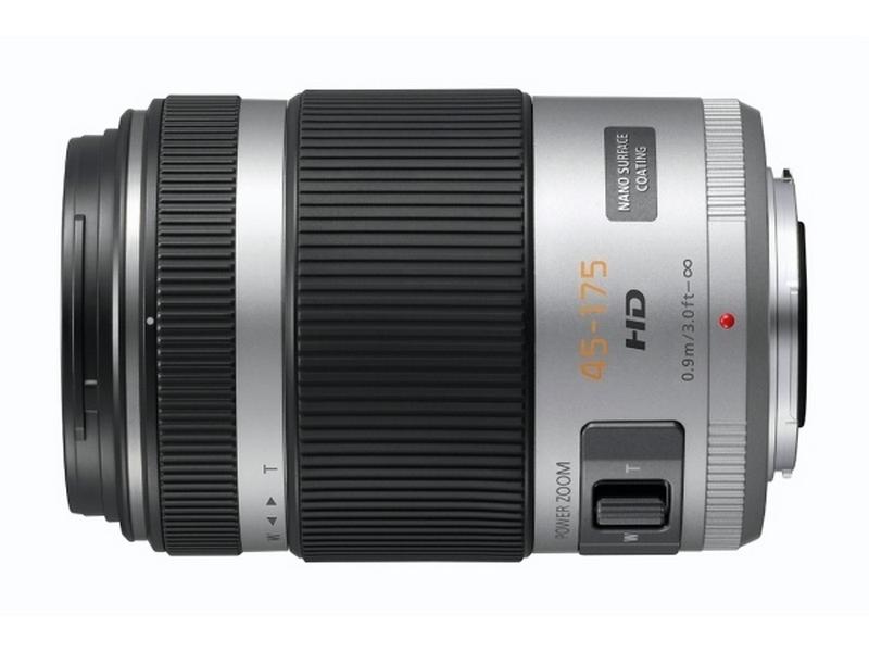 Panasonic lumix g vario 45-175 mm f4-5.6 asph silv