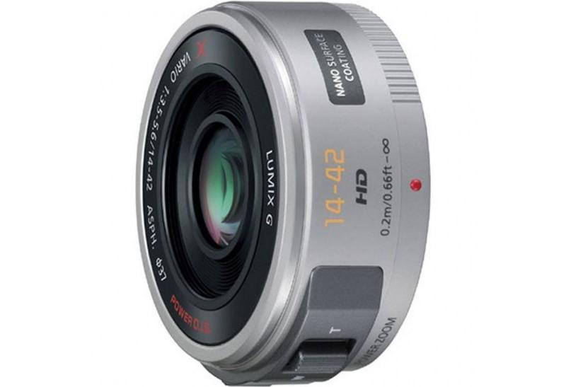 Panasonic lumix g x vario pz14-42mm f3.6-5.6. Silv