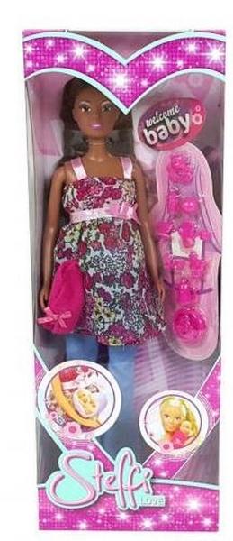 Panenka steffi černoška s miminkem