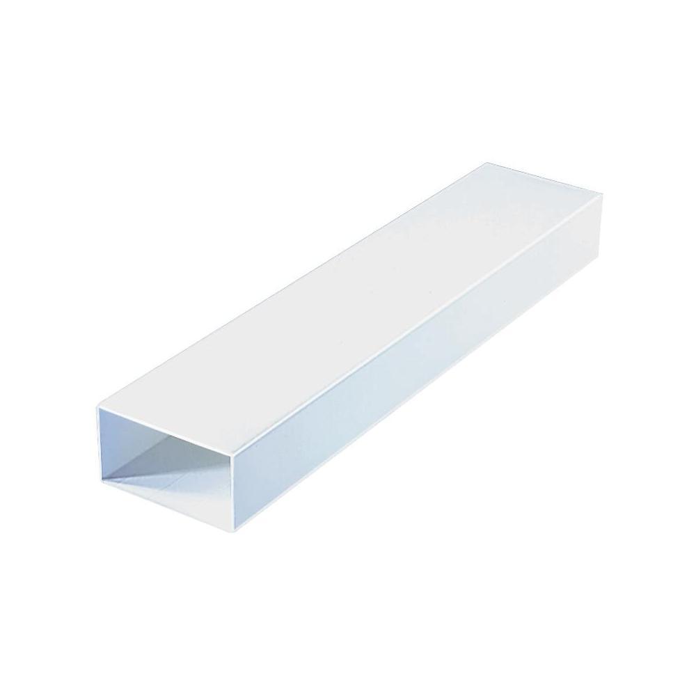 Plochý kanál wallair 150 mm, 220 x 90 mm, bílá