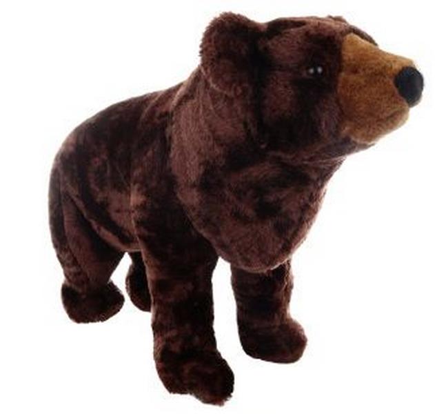 Plyš medvěd hnědý 79 cm