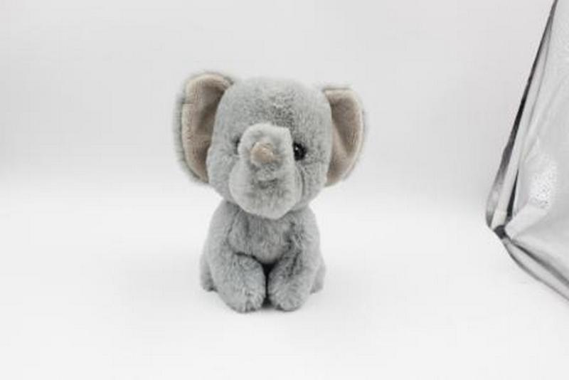 Plyšové zvířátko slon 17 cm