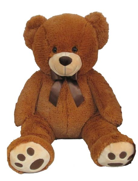 Plyšový medvídek 60 cm, světle hnědý