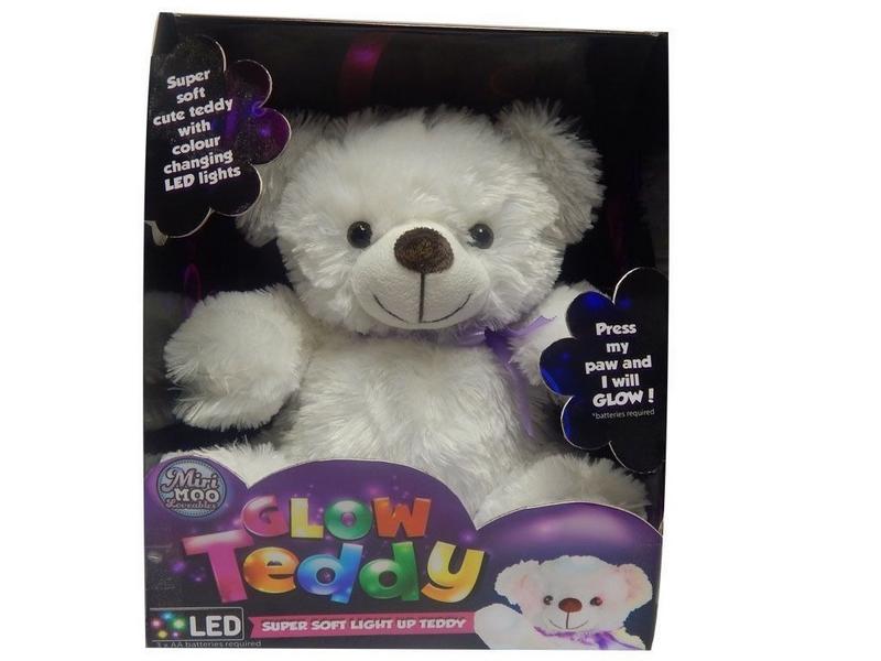 Plyšový medvídek svítící my first light up
