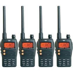 Pmr radiostanice team electronic tecom-x5, 4 ks, kufřík Team Electronic