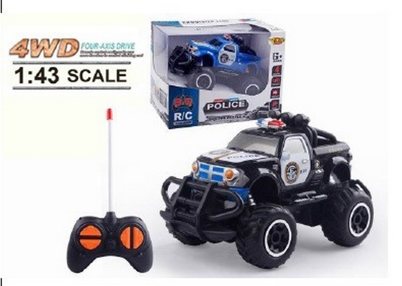 Policie rc wd 1:43